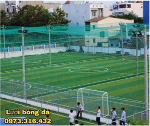 Lưới chắn sân bóng sợi 2.3mm