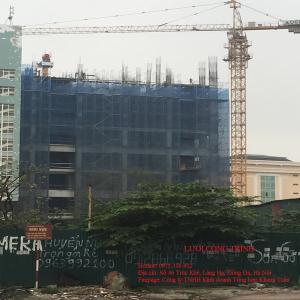 Lưới che công trình xây dựng