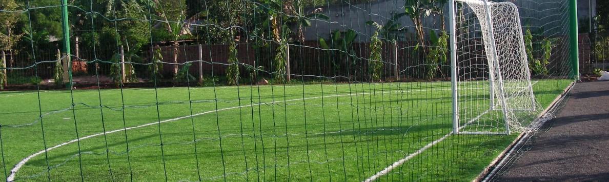 Lưới sân cỏ bóng đá