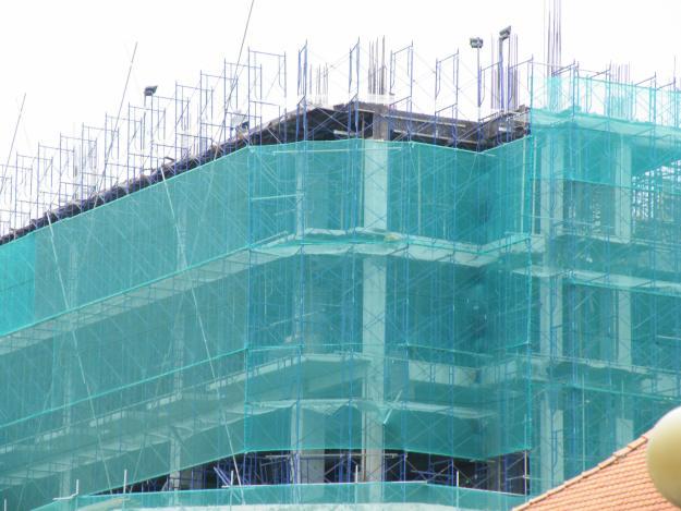 Lưới xây dựng đảm bảo an toàn thi công