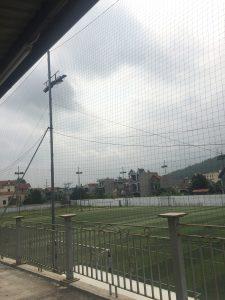 Lưới chắn bóng sân Giếng Đáy – Hạ Long