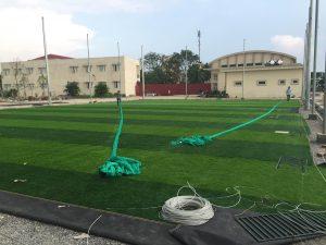 Công trình lưới bóng đá trường Tiểu học Phúc Lợi