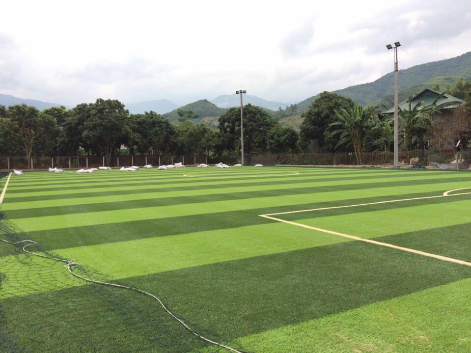 Lưới bóng đá sân Đại Đồng - huyên Thạch Thất