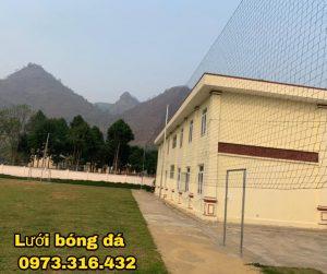 Cung cấp vật tư lưới chắn bóng sân Nậm Loong – Lai Châu